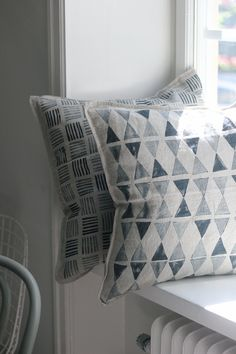 Pillow DIY / Stamps / Home Decor