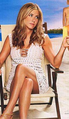 PATTERN ONLY Just Go With it Jennifer Aniston Crochet Dress | Etsy