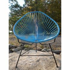 Cool outdoor chair.