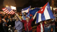 Mourning and Celebration Follow the Death Of Former Cuban Dictator President Fidel Castro. World Leaders and Government Figures also Respond to his Death.
