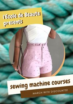If you are a creative person and you do not leave the desire to constantly create, you can master the art of sewing. Have the knowledge and skills to work with a sewing machine, you will save time and effort. Sewing Courses, Sewing Class, School Fashion, Effort, Knowledge, London, Create, Art, Art Background