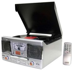 The Pyle Audio Vintage Turntables are Multi-Functional #topbabytrends #trendykids trendhunter.com
