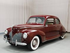 1940 Lincoln Zephyr.