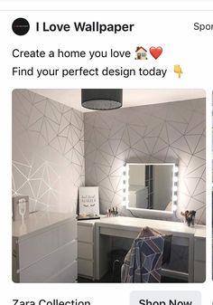 Love Wallpaper, Living Room Designs, Kids Room, Bedroom Decor, New Homes, Décor Ideas, House, Interiors, Home Decor