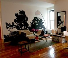 Close-Up: It's a Bird! It's a Plane! No, its a tree in the living room! | Apartment Therapy