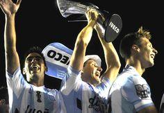 Racing campeón del torneo de fútbol de Argentina. #GastónDíaz