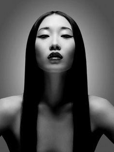 Portrait - Black and White