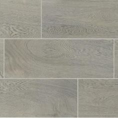 Daltile Glenwood Fog 7 in. x 20 in. Ceramic Floor and Wall Tile sq. / - The Home Depot