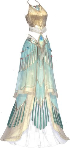 'Goddess of Fire' dress from Love Nikki Dress Up Queen (Elex) Source by dresses Anime Outfits, Cute Outfits, Kleidung Design, Fantasy Gowns, Fantasy Clothes, Anime Dress, Character Outfits, Costume Design, Pretty Dresses