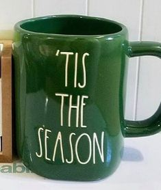 Green Mugs, New Green, Tis The Season, Favorite Holiday, Seasons, Store, Holidays, Decking, Sweater Weather