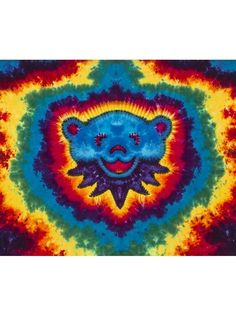 RAINBOW BEAR TAPESTRY