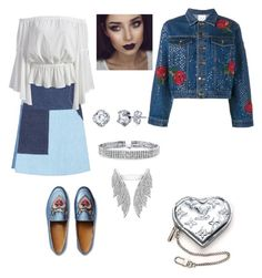 """""""My way"""" by nicoleta-girovanu on Polyvore featuring M.i.h Jeans, Gucci, Ashish, Louis Vuitton and Bling Jewelry"""