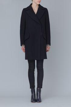 Jil Sander Palermo Coat (Navy)