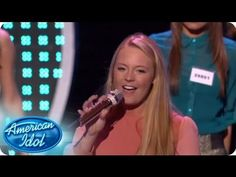"""Kez Ban, Angela Miller, Janelle Arthur and Breanna Steer performed as """"The Misfits"""", belting out a version of """"Be My Baby"""" by the Ronettes. #idol #hollywoodweek #idolgroups"""