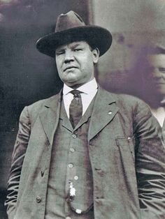 "William Dudley ""Big Bill"" Haywood (Feb 4, 1869 – May 18, 1928), was a founding member and leader of the Industrial Workers of the World (IWW), and a member of the Executive Committee of the Socialist Party of America. During the first two decades of the 20th century, he was involved in several important labor battles, including the Colorado Labor Wars, the Lawrence textile strike, and other textile strikes in Massachusetts and New Jersey.  http://en.wikipedia.org/wiki/Bill_Haywood"