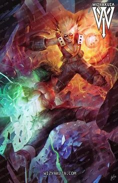 Deku Izuku Midoriya Vs Bakugo Katsuki By Wizyakuza My Hero Academia Episodes, My Hero Academia Memes, Hero Academia Characters, My Hero Academia Manga, Anime Characters, Anime Figures, M Anime, Anime Art, Anime Guys