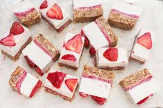 reat someone special to rich, creamy dairyfree strawberry cheesecakes. This rich, creamy no bake cheesecake recipe is easy to make for birthday parties, dinner guests, or as an after-school snack. A healthier, vegan take on the classic…