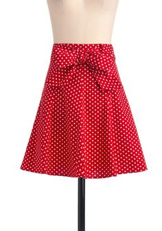 1930s dresses fashion 30s Inspired Musee d'Art Moderne Skirt in Red