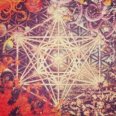 """@resonanceproject's photo: """"#sacredgeometry #art originally posted by @orphix01 - #MetatronsCubecontains all of the geometries of the 5#Platonicsolids by connecting the center points of 13 equal circles that form what is know as the fruit of life.    Understanding #geometry is key to understanding the #universe because everything in the universe is made up of #space and the structure of space is geometry."""""""