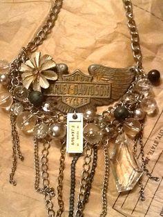 Harley Davidson- Vintage Necklace