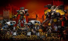 Forge World: New Warlord Titan Upgrades Spotted! - Bell of Lost Souls