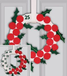 Holly Jolly Holiday Advent Countdown