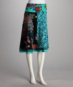 Take a look at this Blue Gingy Skirt by Desigual Women on #zulily today!  Check out Desigual Woman @zulily.com. Reg $99..now $54.99. Ck. out Kid's Desigual sale, too. Great stylish, Bold designs.