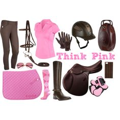 """Think Pink"" Riding Outfit Collection"