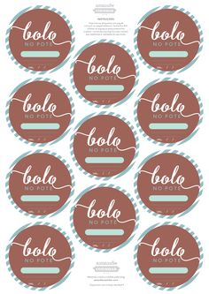 tag adesivo etiqueta bolo no pote www.amandocozinhar (2).pdf Medical Wallpaper, Cake Logo, Kitchen Styling, Birthday Decorations, Planner Stickers, Cake Toppers, Picture Frames, Diy And Crafts, Bakery