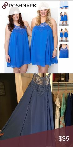 Shop Women s Kiki La Rue Blue size Dresses at a discounted price at  Poshmark. 58e89517ae