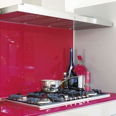 red splashback & cou