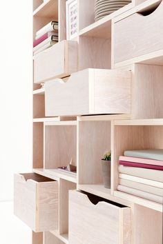 Bookshelves for study Built In Furniture, Plywood Furniture, Home Furniture, Furniture Design, Furniture Plans, Plywood Bookcase, System Furniture, Furniture Chairs, Garden Furniture