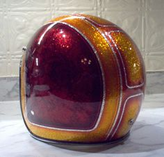 Chopper Helmets, Cool Motorcycle Helmets, Cool Motorcycles, Biltwell Helmet, Helmet Paint, Lace Painting, Custom Helmets, Bike Stuff, Bobbers