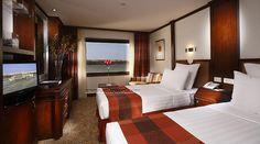 Sonesta Nile Goddess Nile cruise twin cabin