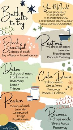Diy Bath Salts With Essential Oils, Young Essential Oils, Essential Oils Guide, Essential Oil Uses, Essential Rewards Young Living, Thieves Essential Oil, Cedarwood Essential Oil, Lemon Essential Oils, Natural Essential Oils