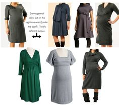 what to wear to maternity photo session :: click to blog for entire article