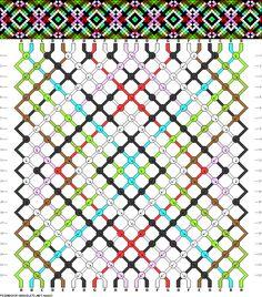 22 strings, 22 rows, 8 colors