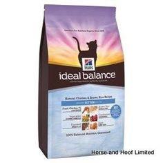 Hills Ideal Balance Feline Chicken Rice Flavour Kitten Food 300g WEIGHT VOLUME