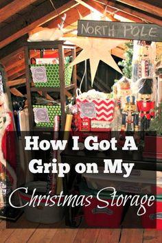 How I Finally Got A Grip On My Christmas Storage