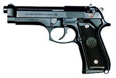 The Beretta the Pistol, Semiautomatic, the designation for the Beretta semi-automatic pistol used by the United States Armed Forces. The was adopted by the United States military as their service pistol in Rifles, Beretta 92, Military Guns, Guns And Ammo, Weapons Guns, Self Defense, Armed Forces, Firearms, Hand Guns