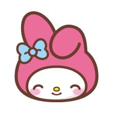With her pink hood and shining bunny eyes, My Melody is here to make your messages cuter than ever. Let My Melody voice your feelings loud and clear with this super-versatile set of emoji. My Melody Sanrio, Hello Kitty My Melody, Sanrio Hello Kitty, My Melody Wallpaper, Sanrio Wallpaper, Hello Kitty Characters, Sanrio Characters, Anime Stickers, Cat Stickers