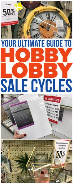 Hobby Lobby - Krazy Coupon Lady Store Hacks You're Going to Wish You'd Known Sooner!