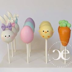 Cake pop stand by BRP Box Shop Bunny ear silicone mold by - Cake Pops - Kuchen Easter Cake Pops, Easter Bunny Cake, Easter Cookies, Easter Party, Easter Cake Stand, Magnum Paleta, Cake Pop Designs, Cake Pop Stands, Diy Cake Pop Stand