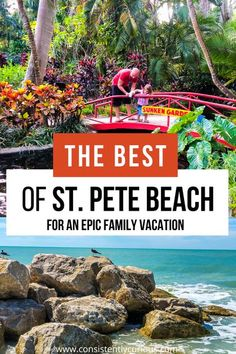 Create an epic Florida beach vacation by visiting St. Pete Beach. Discover one of America's oldest roadside attractions, pick your own oranges, and don't forget to check out the Dali. #stpetebeach #stpetersburg #florida #travel