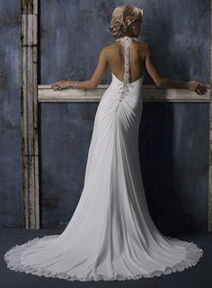 Maggie Sotero Caprice. (Beautiful back!)