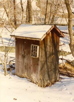 History Of Out Houses | Outhouse1