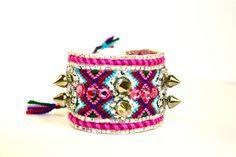 Lolita Abraham Friendship Bracelet Spikes