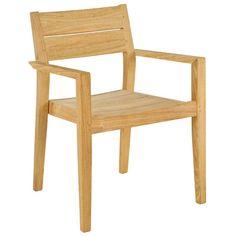 Tivoli stacking armchair | Outdoor Furniture | Andy Thornton