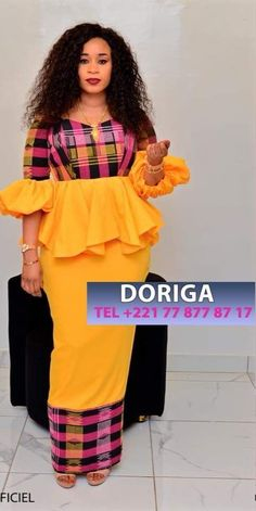 Simple And Creative Ankara Long Dress Styles 2019 African Fashion Ankara, Latest African Fashion Dresses, African Print Fashion, Africa Fashion, African Dresses For Women, African Print Dresses, African Attire, African Blouses, African Traditional Dresses