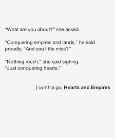Hearts and Empires #love #prose #poetry #poem #words #quotes